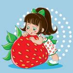 Strawberry fairy vector 2 by jkBunny
