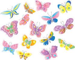 Butterflies by jkBunny