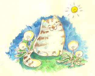 Cat by jkBunny