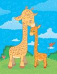 Giraffes Love by jkBunny