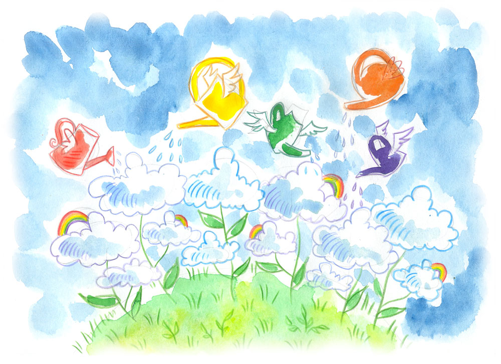 How clouds grow by jkBunny