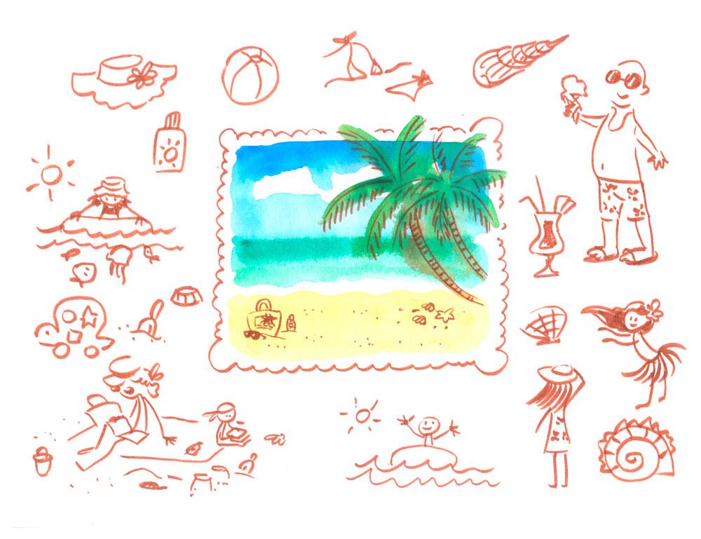 Beach by jkBunny
