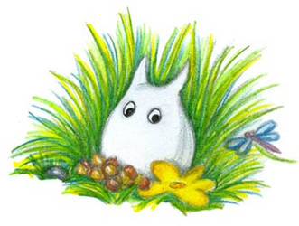 A smallest totoro by jkBunny