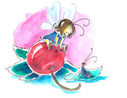Cherry Fairy by jkBunny