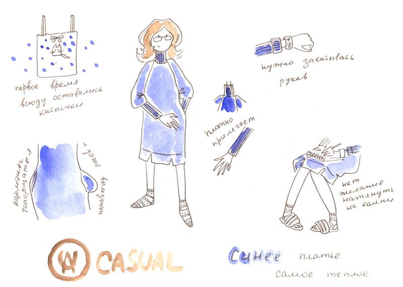 Blue dress by jkBunny
