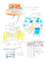 Desks by jkBunny