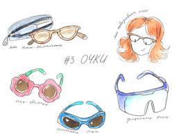 Glasses by jkBunny