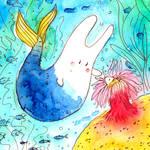 Bunny mermaid