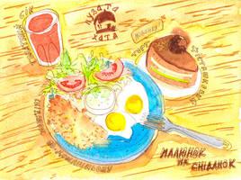 Breakfast by jkBunny