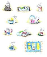 Bunny has fallen ill by jkBunny