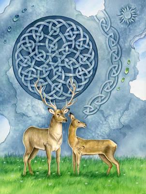 Deer patterns by LucieOn