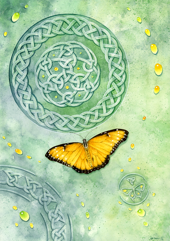 Celtic Butterfly by Siluan