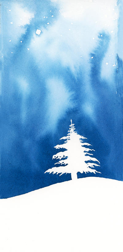 Blue Christmas by Siluan