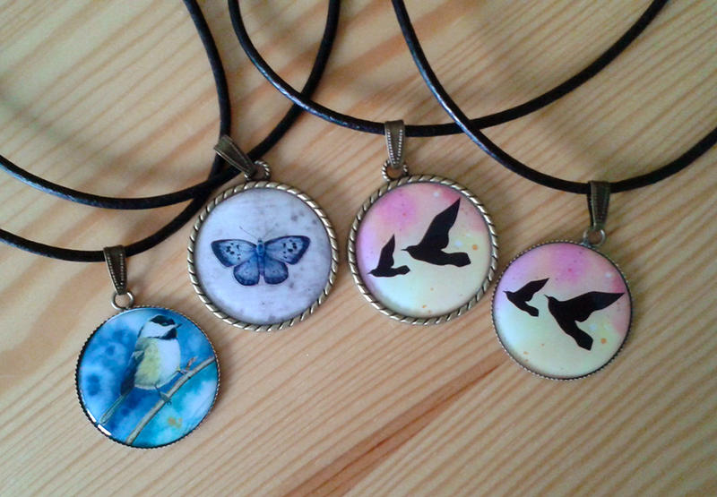 Pendants by LucieOn