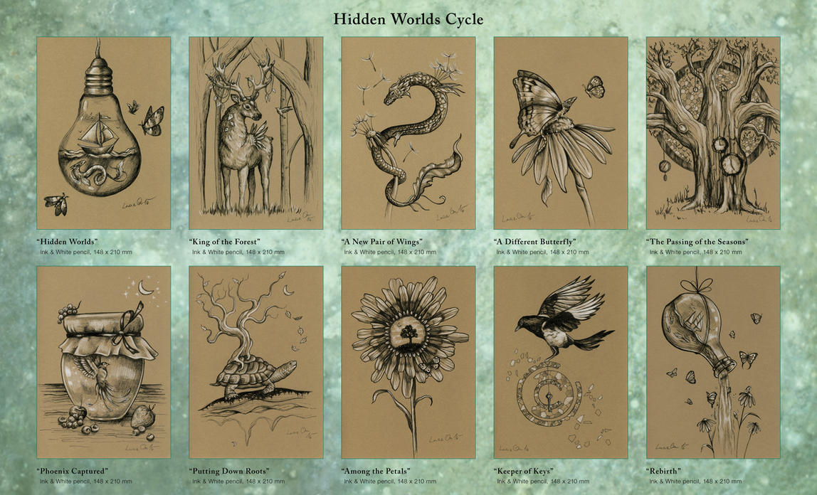 Hidden Worlds Cycle by LucieOn