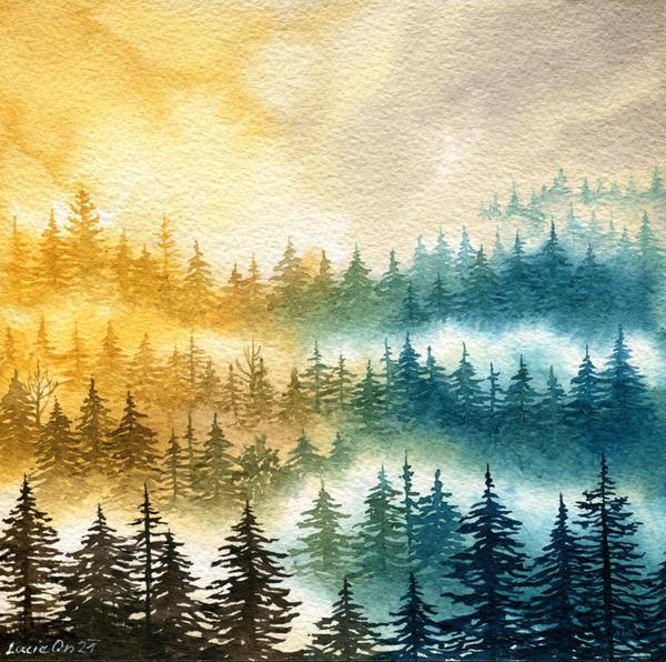 Sun through the Mist