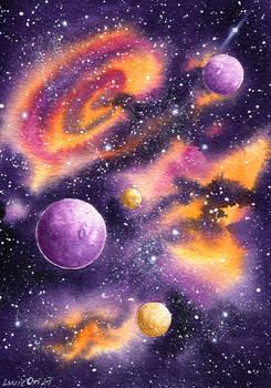 Purple Galaxy II