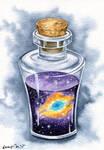 Bottled Helix Nebula