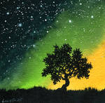 Yellow Green Tree