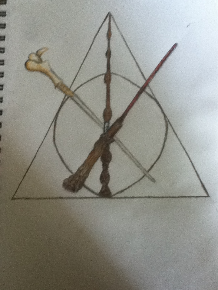 Two wands and the deathly hallows by slytherinpianist on for The deathly hallows wand