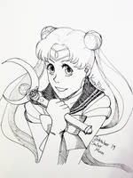 Inktober 19   Sailor Moon