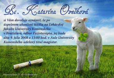 Katka-Graduation Announcement