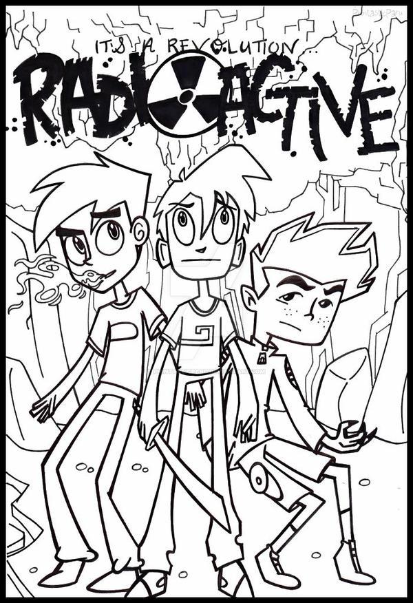 The Secret Trio : Radioactive Poster by PhintasticParu