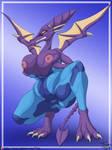 Big Zero Suit Ridley by TriasTheDinoArtist