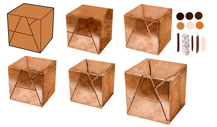 Step by step Copper Cube