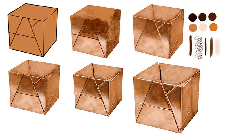Step by step Copper Cube by kiger8kiger