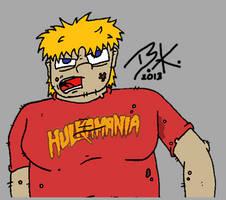 Hulkamania Fan by Tangotacular