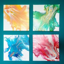 FOR SALE Dutch pour paintings