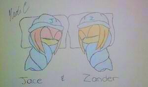 Knuxikal- Jace & Zander by XxFiery666xX