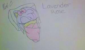 Sonamy- Lavender Rose by XxFiery666xX