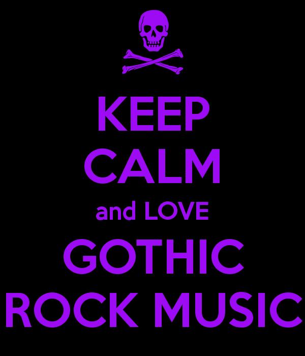 Keep Calm Gothic Rock By XxMisery SeverityxX