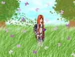 Purple Butterfly-Kami by sanara-le