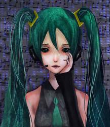 Hatsune Miku by Dream-Scapes