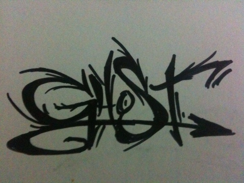 Ghost Graffiti 1
