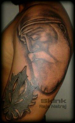 guru nanak tattoo by skink-raja-natraj on DeviantArt