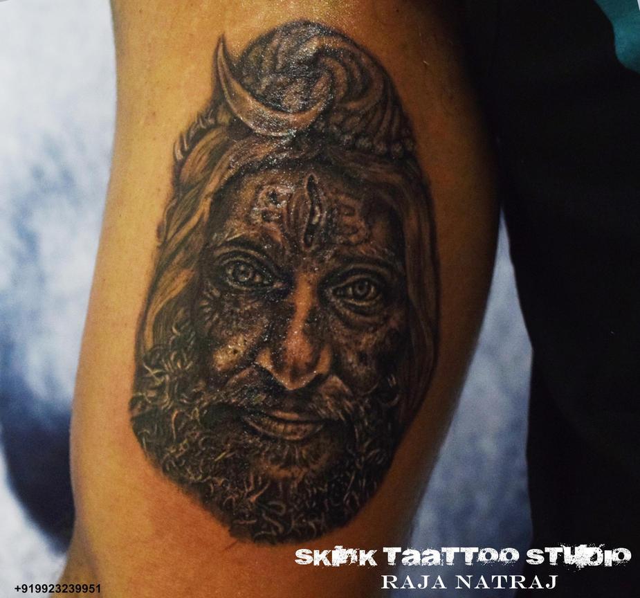 Realistic Shiva tattoo by skink-raja-natraj on DeviantArt