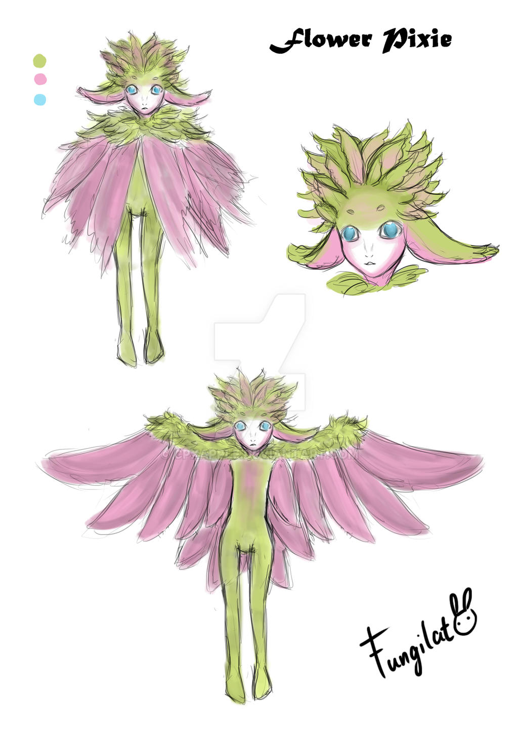 character design by cpxapple
