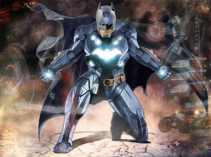 Iron Bat by StitchParadox on DeviantArt