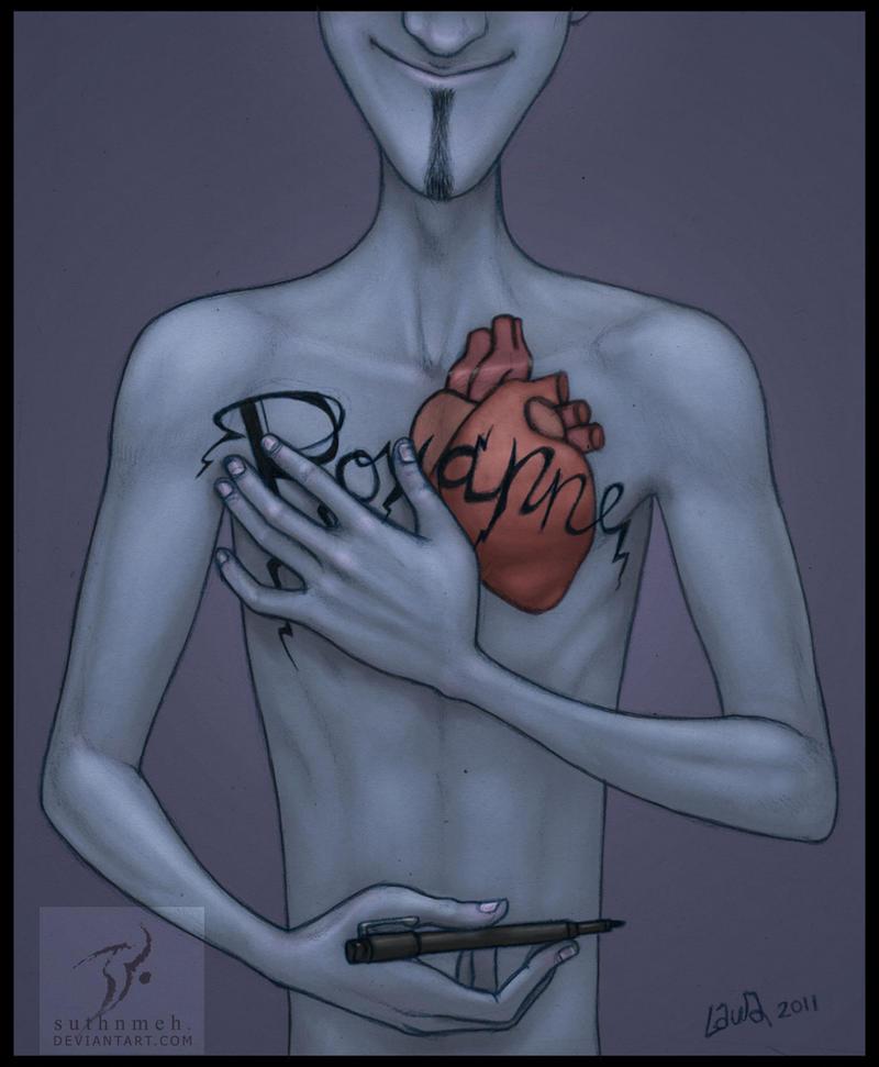 Megamind 10: Confession - chest tattoo