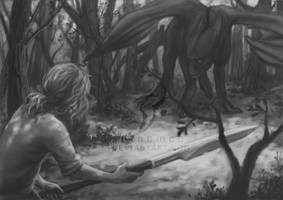 First encounter by suthnmeh