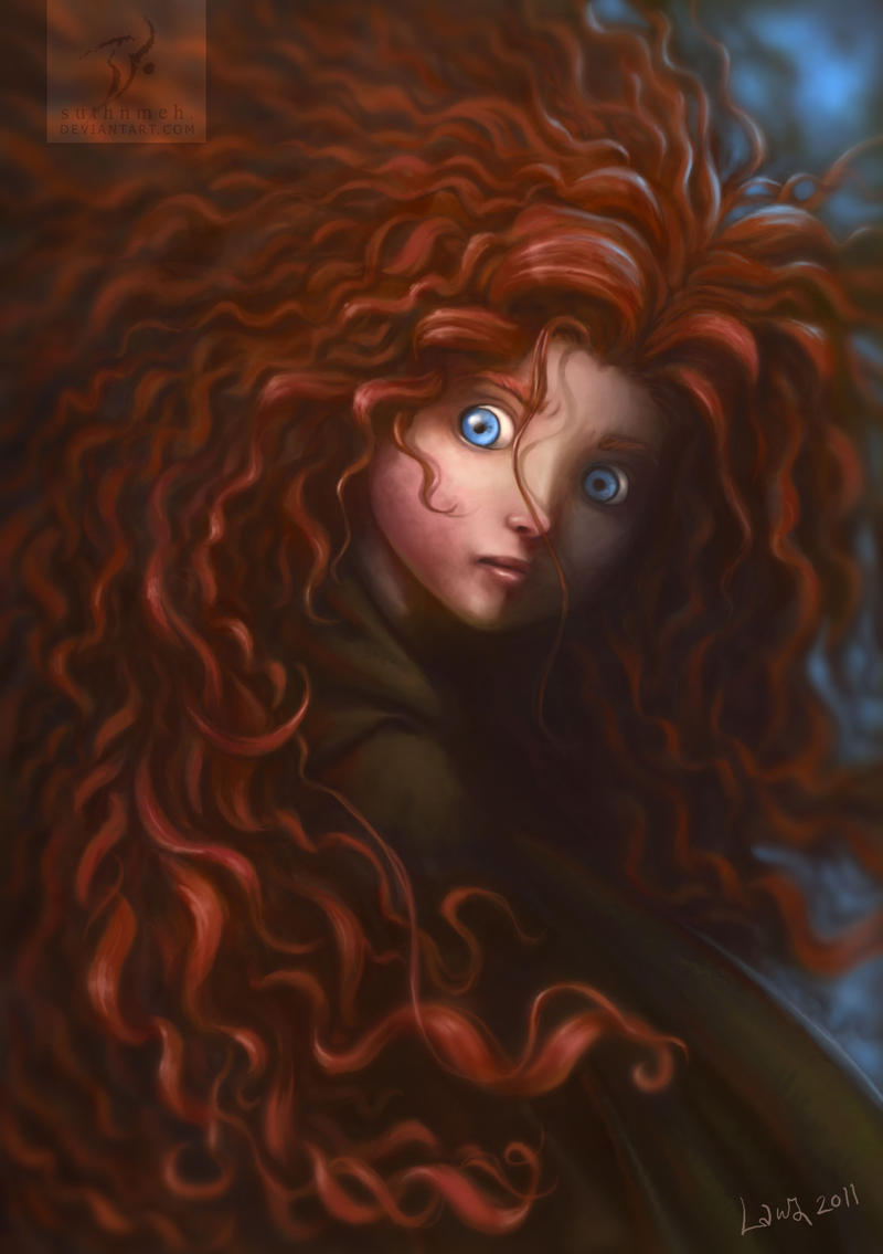 Brave redhead by suthnmeh