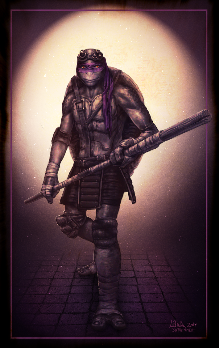 Donatello by suthnmeh