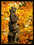Monument And Colours Of Autumn by skarzynscy