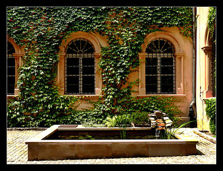 Courtyard In Centre Of Cracow