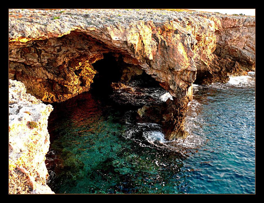 Cliffs In Sunrise - Menorca 3 by skarzynscy