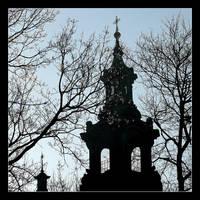 Tower St. Anna's Church,Cracow by skarzynscy